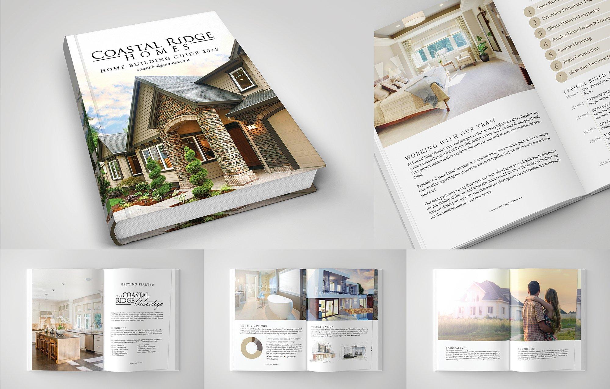 Coastal Homes Book Design & Layout