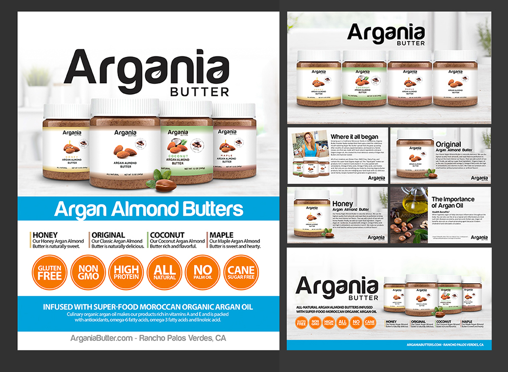 Argania Butter, Morgan Media LLC, Miami, FL
