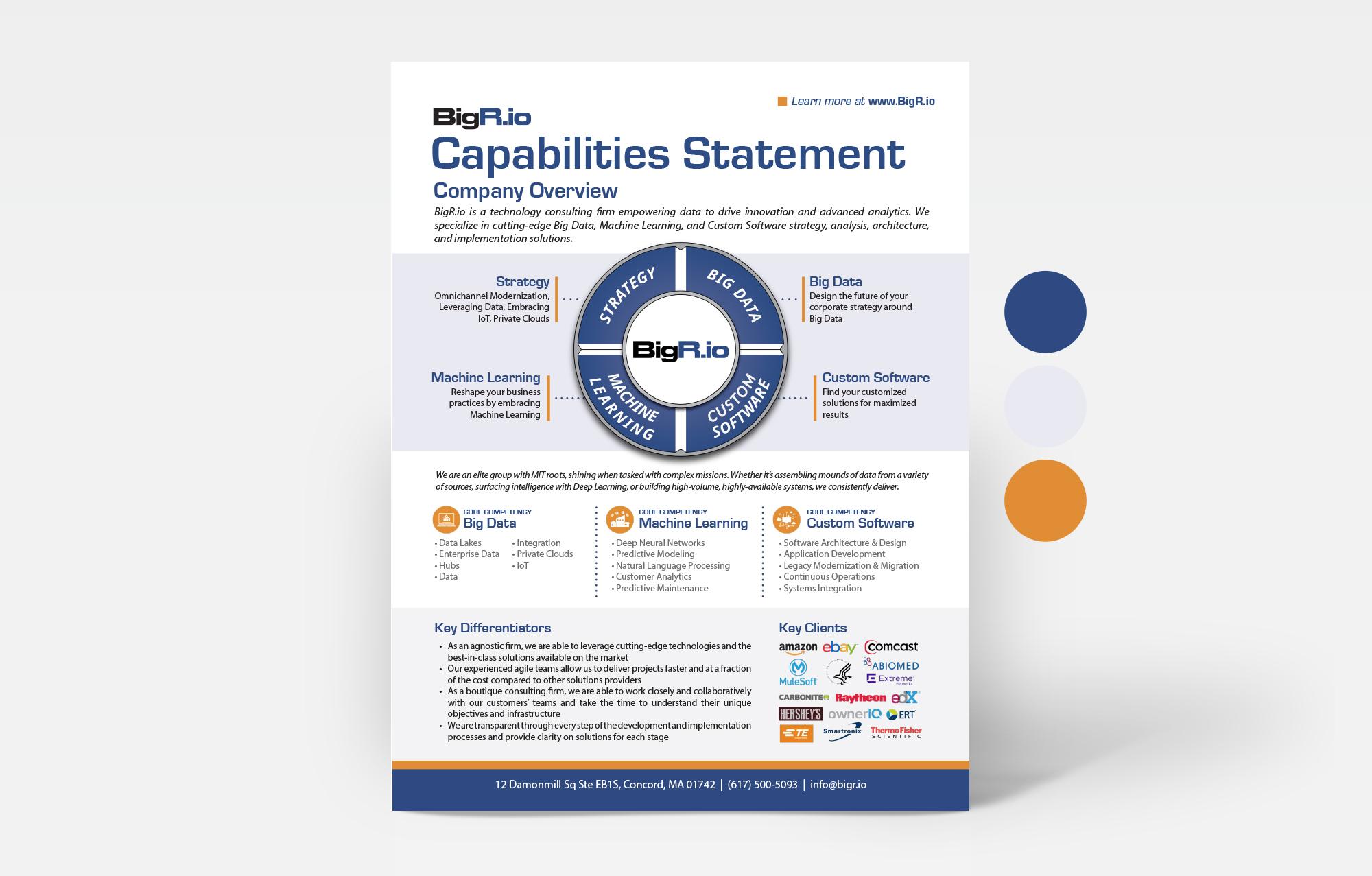Morgan Media LLC, Graphic Design, White Paper