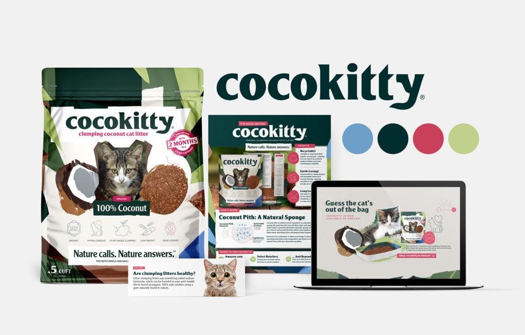Morgan Media LLC, Graphic Design, Miami, Package Designs, CocoKitty, Litter