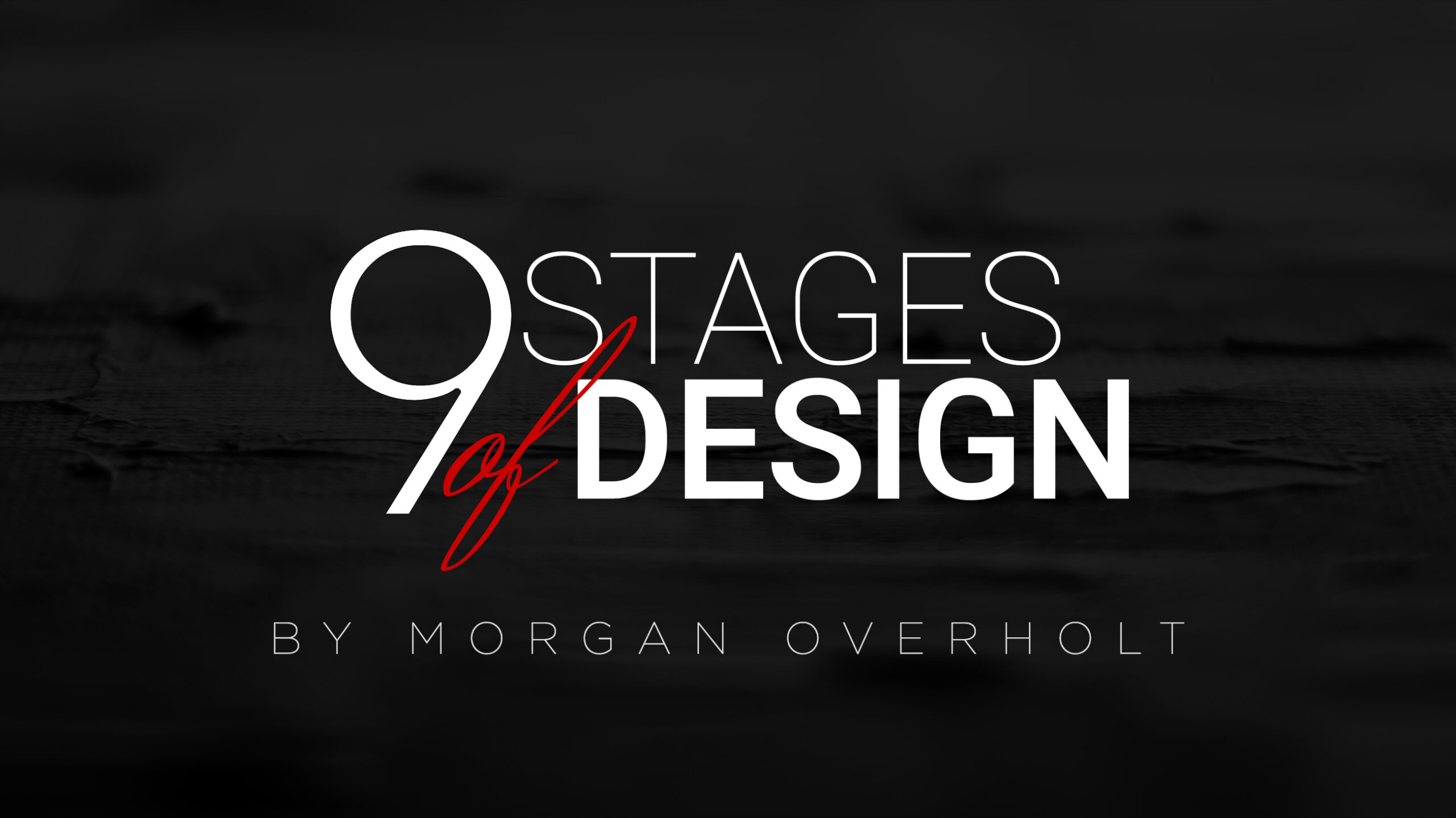 Thinking Outside the Box, 9 Lives of the Non-Profit, 9 Stages of Design, 9 Stages of Grief