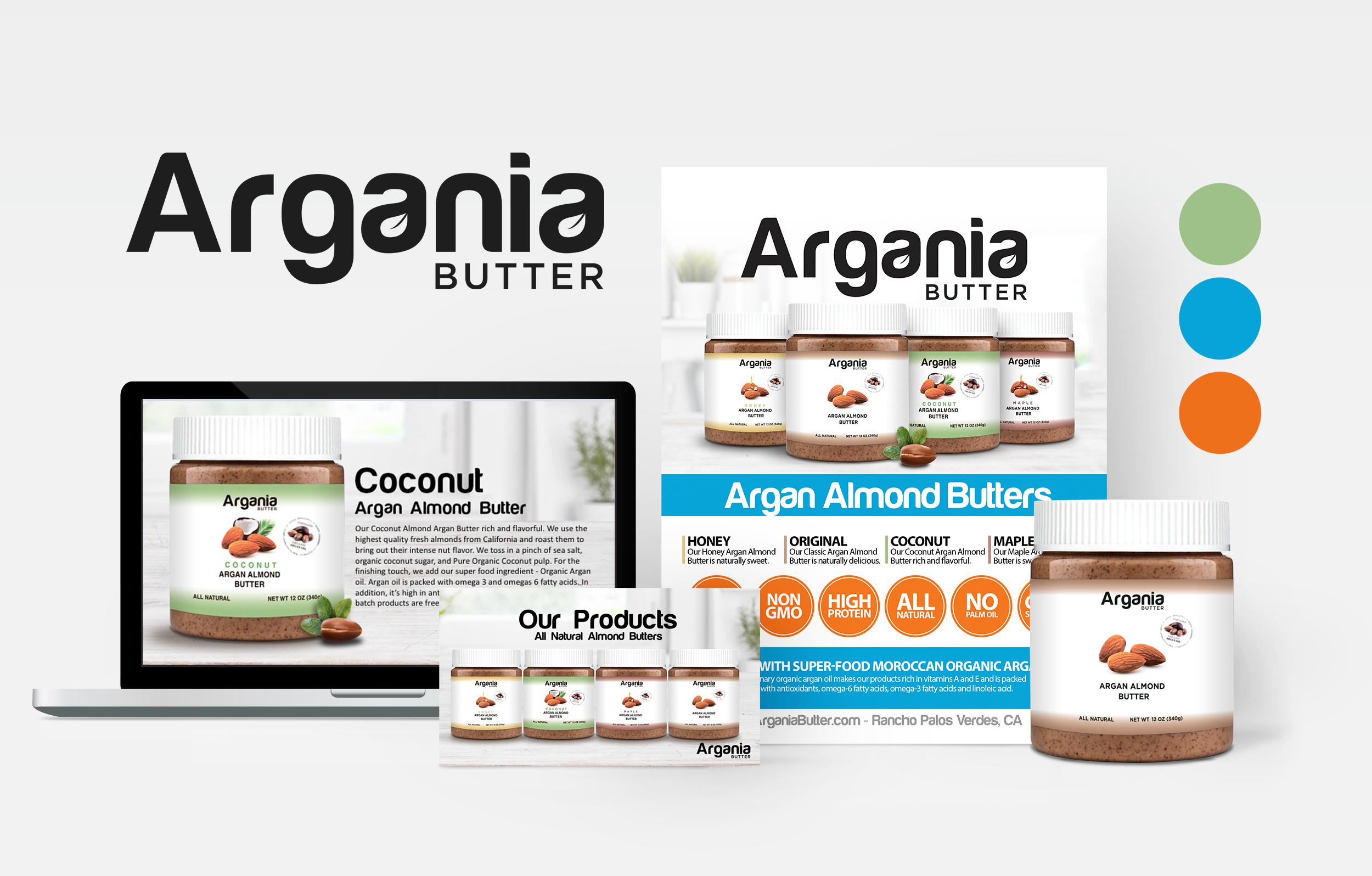 Morgan Overholt, Services, Argania Butter