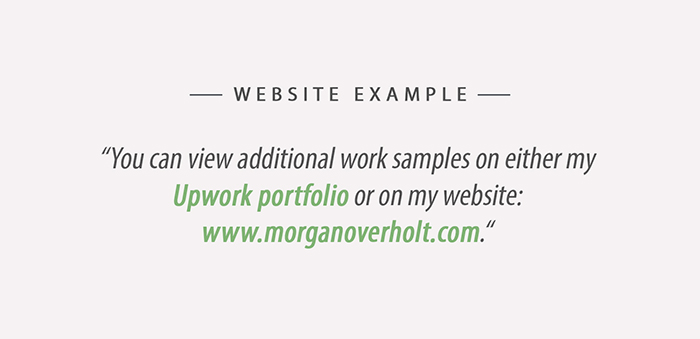 Upwork Website Example